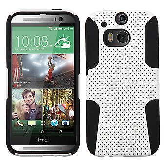 ASMYNA Astronoot Protector Case for One W8/One M8 Windows/One M8 - Blanc/Noir