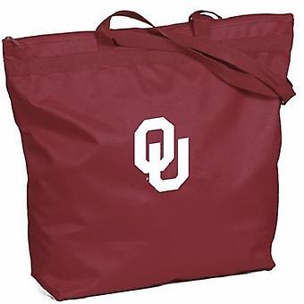 Oklahoma Sooners NCAA Zipper Tote Bag