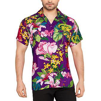 Club cubana men's regular fit classic short sleeve casual shirt ccc94