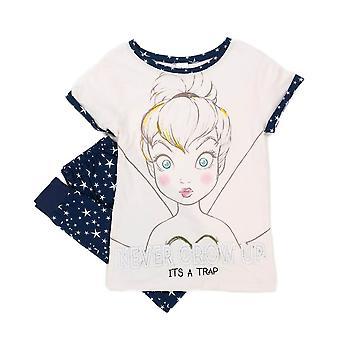 Women's Disney Tinker Bell Never Grow Up Pyjama Set