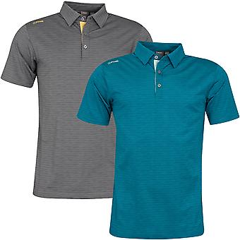 Ping Collection Mens 2020 Seth Short Sleeve Wicking Golf Polo Shirt