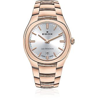 Edox - Rannekello - Naiset - Les Bémonts - Ultra Slim Date - 57004 37R AIR