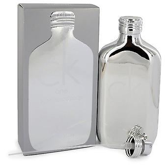 CK One platine Eau De Toilette Spray (unisexe) de Calvin Klein 6.7 oz Eau De Toilette vaporisateur
