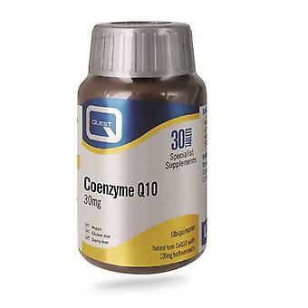 Quest Vitamins Coenzyme Q10 30mg Tabs 30 (601626)