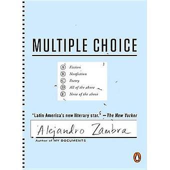 Multiple Choice by Alejandro Zambra - Megan McDowell - 9780143109198