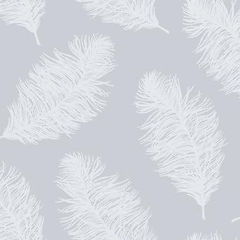 Patterdale Weißdorn blass blau Wallpaper Holden 90862