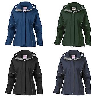 Result Womens/Ladies Urban Outdoor La Femme® Lightweight Technical Jacket (Waterproof & Windproof)