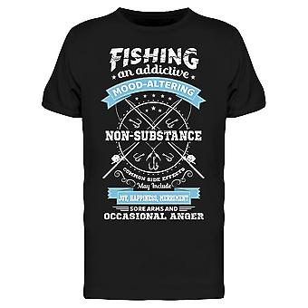 Fishing Lovers Quote Tee Men's -Image by Shutterstock