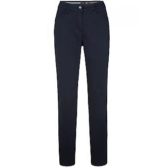 Olsen Lisa Navy Straight Leg Jeans