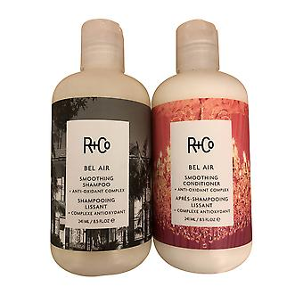 R+Co Bel Air Smoothing Shampoo & Conditioner 8,5 OZ
