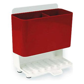 Multi-Purpose Organiser Confortime White Red (18,3 x 11,9 x 19,9 cm)