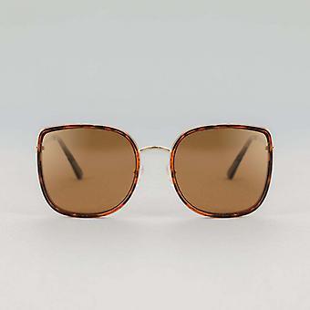 Mara Carey Brown gepolariseerde vierkante zonnebril
