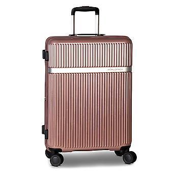 Fabrizio Worldpack Orlando Trolley M, 4 ruote, 67 cm, 72 L, rosa