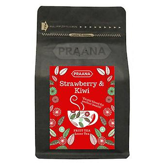 Praana Tea - Strawberry And Kiwi Fruit Tea - 100 G