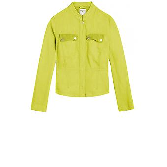 Sandwich Clothing Ture Lime Linen Jacket