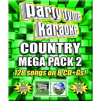 Various Artists - Party Tyme Karaoke: Country Mega Pack 2 [CD] USA import