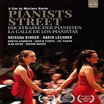 Importación de pianistas USA Street-La Calle De Los Pianistas [DVD]