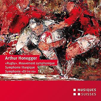 Honegger / Venzago - Honegger: Rugby / Mouvement Symphonique [CD] USA import