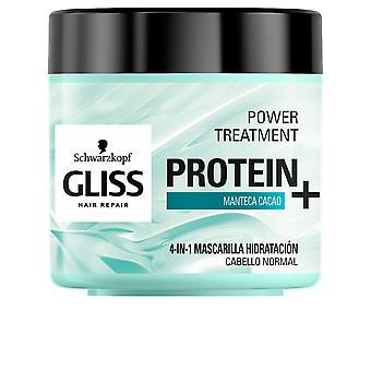 Schwarzkopf Gliss Protein+ Maske Hidratacion Cabello Normal 400 Ml Für Frauen