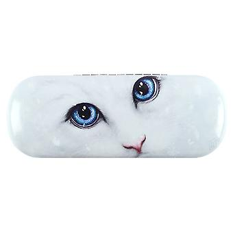 Linda Jones Winter Cat Glasses Case