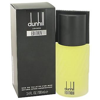 Dunhill Edition Eau De Toilette Spray By Alfred Dunhill 3.4 oz Eau De Toilette Spray