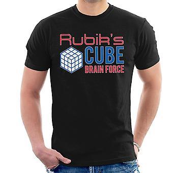 Rubik's Cube hersenen Force mannen T-shirt