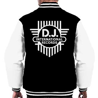 DJ International Classic Cross Logo Men's Varsity Jacket