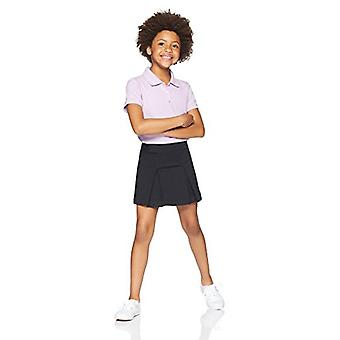 Essentials Big Girls' Uniform Skort, Black Beauty, M (8)
