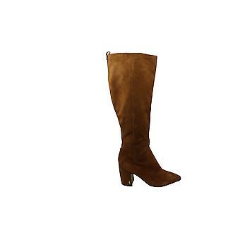 MIA Amore Womens Lolaa Almond Toe Knee High Fashion Boots