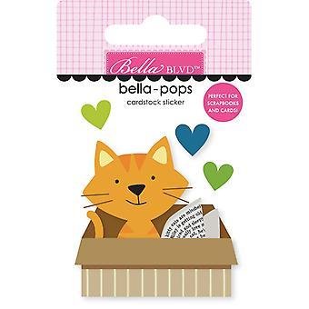 بيلا الجادة القط في مربع بيلا الملوثات العضوية الثابتة (4pcs) (BB2279)