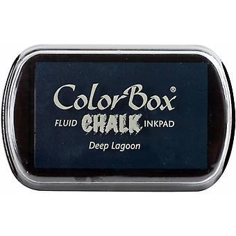Clearsnap ColorBox Kritt blekk full størrelse dyp lagune