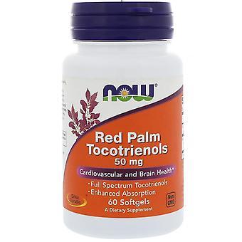 Jetzt Lebensmittel, Rote Palme Tocotrienole, 50 mg, 60 Softgels