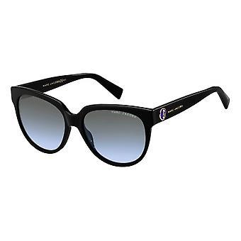 Sunglasses Women's Wanderer/Round Black