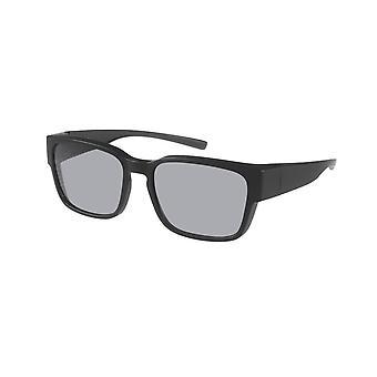 Sunglasses Unisex black with grey lens VZ0041A