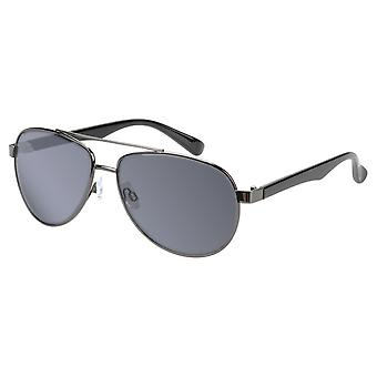 Sunglasses Unisex Grey with Grey Lens (17-907 P)