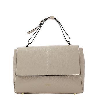 Avenue 67 Elettra3 Women's Beige Leather Shoulder Bag