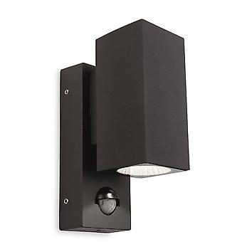 Firstlight Dino - LED 1 Lys Udendørs Væg Lys Lys, PIR Grafit IP44