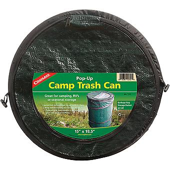 Coghlan's Mini Pop-Up Trash Can, Collapsible Camping RV Storage, Fermeture zippée