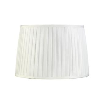 35 Cm Fabric Conical Lampshade White