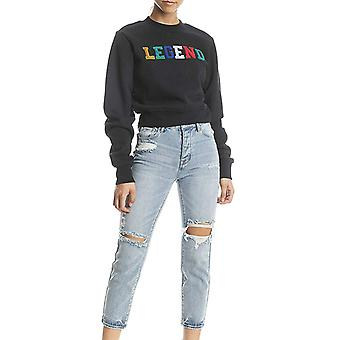 Kendall + Kylie | Embroidered Crewneck Sweater