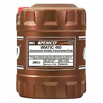 Pemco iMatic CVT Automatic Transmission Fluid Gear Oil 20 L MB 236.20 TC