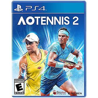 AO Tennis 2 PS4 Game (#)