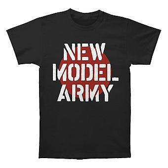 New Model Army Logo T shirt