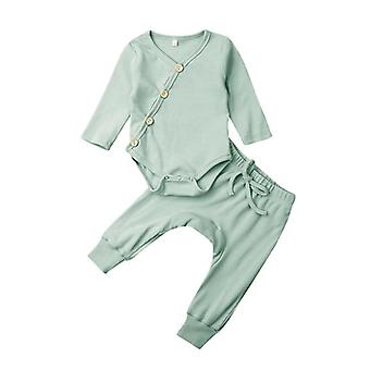 Infant Baby Pajamas, Sleepwear Nightwear Clothes Outfit Cotton Stripe