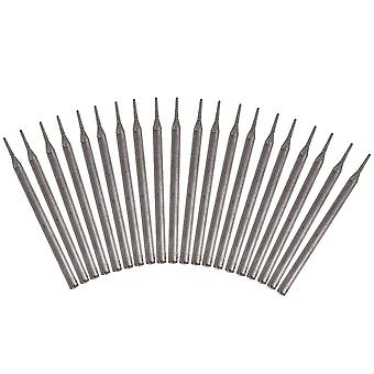 20 x Silver Gems Engraving Drill Bits for Lapidary Jewelry Engraving 0.7mm Tip