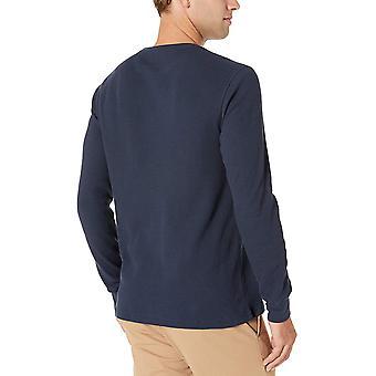 Essentials Men's Regular-fit Long-Sleeve Waffle Shirt