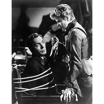 Gaslight Charles Boyer Ingrid Bergman 1944 foto afdrukken