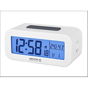 Acctim Varley Radio Controlled LCD Alarm Clock 71842