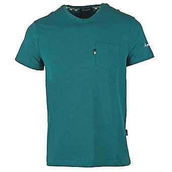 Aquascutum Sleeve Logo T-shirt vert