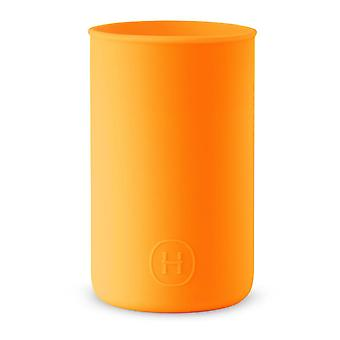 Siliconen sleeve Pumpkin Orange Water Bottle